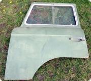 Barkas B1000 Fahrertür mit Verglasung ohne Innenverkleidung