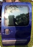 Renault Kangoo 98-03 Schiebetür links blau Farbcode 432