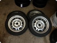 4 Stück original Felgen mit Reifen Smart