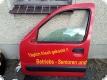Fahrertür rot Farbcode D719  Renault Kangoo 1998-03