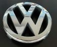 VW Zeichen vorne Polo 9N Bora Polo 9A4 Emblem Logo Kühlergrill 1J5853601 Chrom
