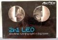 UN100023 LED Tagfahrleuchten und LED Nebelscheinwerfer 2 in 1
